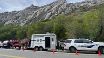 Climber airlifted out of area called 'Certain Death'