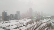 Winds subside on the Prairies, but snow may complicate travel Tuesday