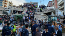 Six killed in Turkey as strong earthquake hits Aegean Sea