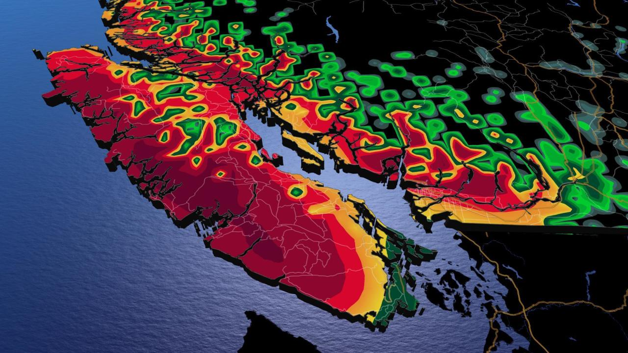 B.C.: Storm track guarantees soggy end to January