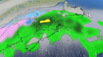 Classic fall storm spans Atlantic Canada, threat for big wintry mix