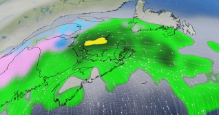 Potent system headed for Atlantic Canada Monday, sets the stage for stormy week