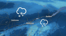 Quebec: Heavy snow takes aim for second half of the weekend