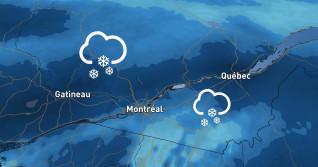 Quebec: Messy system could bring up to 20 cm of snow on the weekend