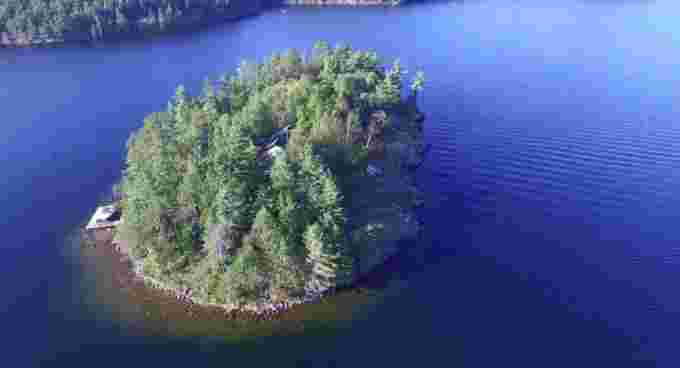 When Keith Perrin bought Hurtubise Island near Sudbury, the deed said it was named Number 2, Island 2. So he set about giving it an official name. (Submitted by Keith Perrin) CBC