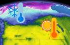 Contrasting air masses dominates the Prairies this weekend