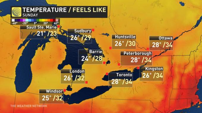 The Weather Network - Ontario: Humidity finally declines