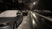 Snow, rain and ice create dicey, slushy travel across Quebec