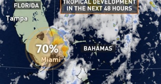 Watching for tropical system near Florida, eyes on Canadian impact