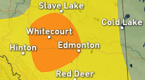 Alberta: Strong storm risk rolls in for Wednesday