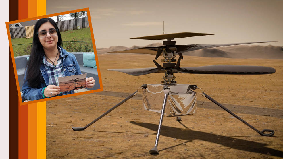 Alabama high school student names NASA's first Mars helicopter