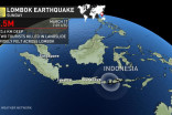 Earthquake hits Indonesia, tourists killed, dozens injured