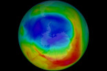 Wonky weather gave us the smallest Antarctic ozone hole since the 1980s