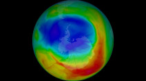 Antarctic ozone hole is the SMALLEST on record since the 1980s
