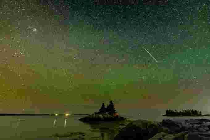 UGC: Meteor shower
