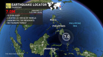 No Tsunami risk after 7.0 magnitude quake at sea near Philippines: PTWC