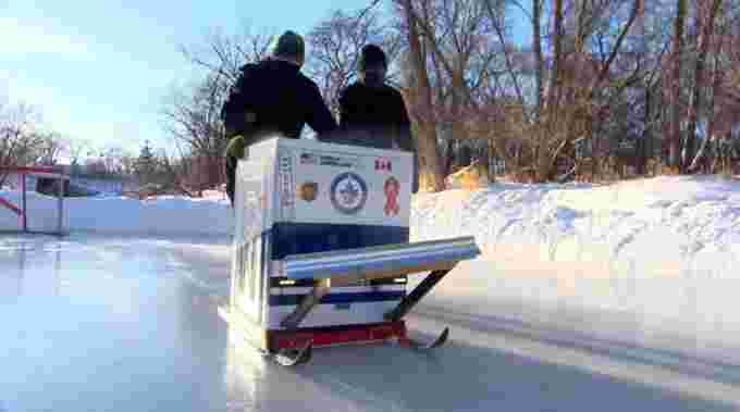 CBC: Washing machine Zamboni