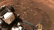 NASA took the Perseverance rover for its first 'spin' on Mars