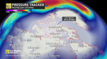 Canadian high-pressure system SOARS to new heights