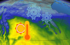 Wintry pattern (somewhat) breaks down on the Prairies, temperatures set to soar