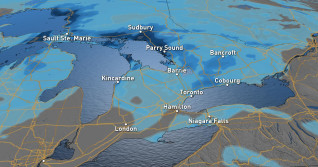 Ontario: Snow will make for a difficult Wednesday night commute