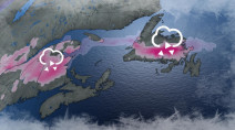 Atlantic: Eyes on next messy system, freezing rain could be main threat