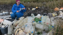 Ships are illegally dumping plastic trash at sea, study suggests