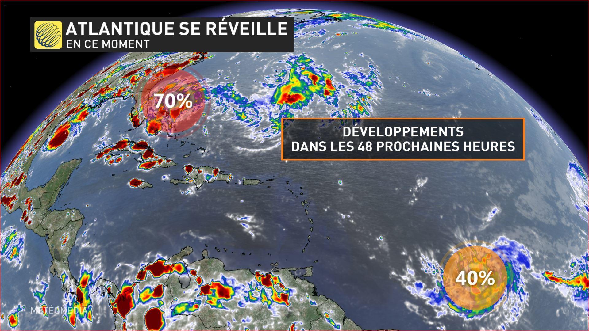 Tempête tropicale Dorian : les Antilles menacées