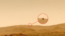 Mars helicopter successfully touches down in new airfield after fifth flight