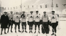 The 1st Winter Olympics were in 1924, and Canada absolutely dominated in hockey
