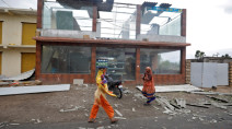 Scores missing at sea as cyclone pummels Indian coast, killing at least 29