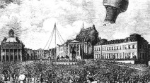 November 21, 1783 - Hot Air Balloon Ride over Paris