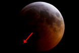 Meteorite strike caught during Super Blood Wolf Moon eclipse