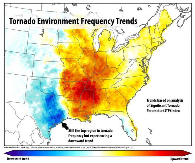The Weather Network - Why the famous \'Tornado Alley\' is on ...
