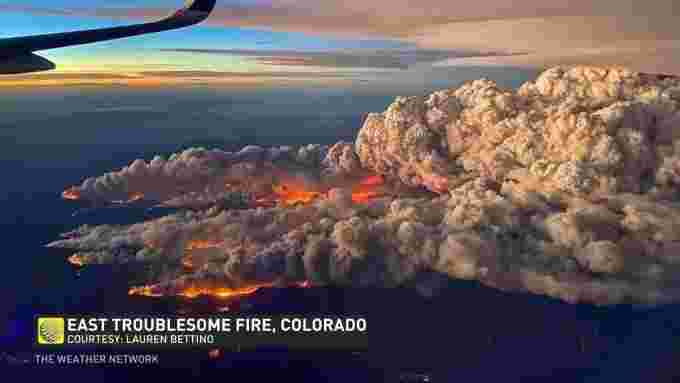 East Troublesome Fire Colorado