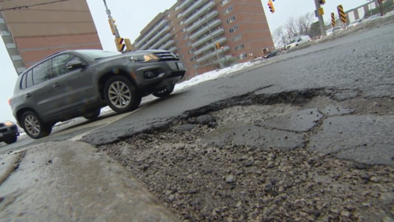 Mind the bumps: Pothole season has arrived