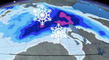 Prairies: Bursts of snow continue, but temperatures begin to climb