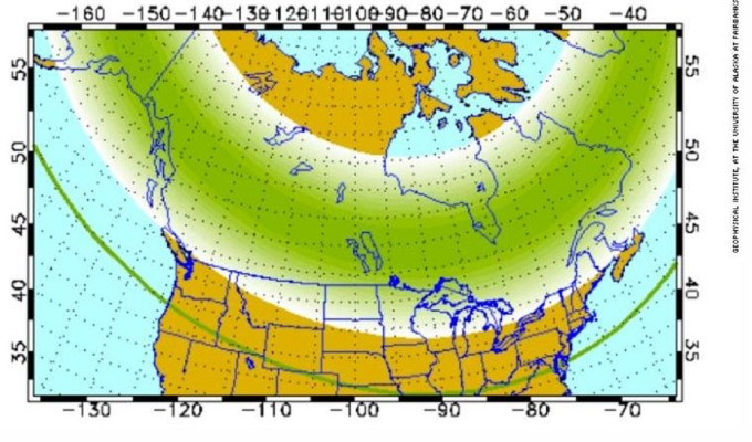 The Weather Network - Northern lights to be visible in ...