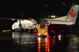 Air Canada plane and fuel truck collide on runway at Pearson