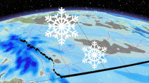 Snow set to pile up with several shots over the Prairies this week