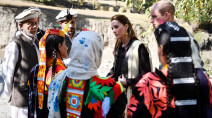 Prince William and wife Kate see impact of climate change at Pakistan glacier