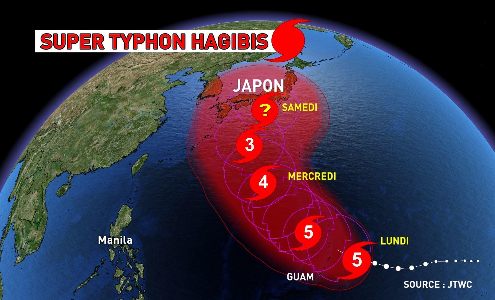 Direct Hagibis : Tokyo dans l'oeil du typhon