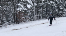 Crowds flock to ski hill in Nova Scotia as season finally opens