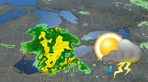 Ontario: Warmth building back in, multiple days of storm risk