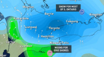 Ontario: Poorly timed snow threatens 10 cm for morning drive