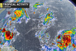 Three tropical cyclones continue to spin in the Atlantic