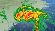 Bertha makes landfall in South Carolina, heavy rain and intense winds expected