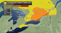 Ontario: Instability, storm threat builds amid rising heat