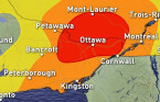 Ontario: Second day of storm risk ahead, with rising humidity