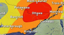 Ontario: Powerful storms set up, risk of isolated tornado